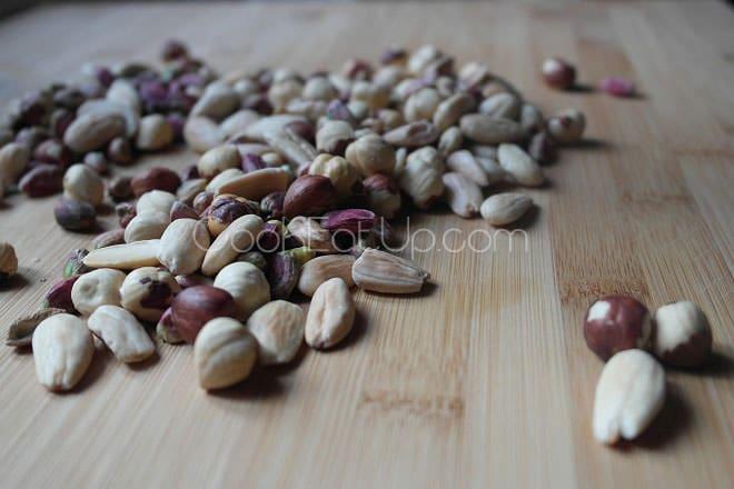 Fudge σοκολάτας με ξηρούς καρπούς