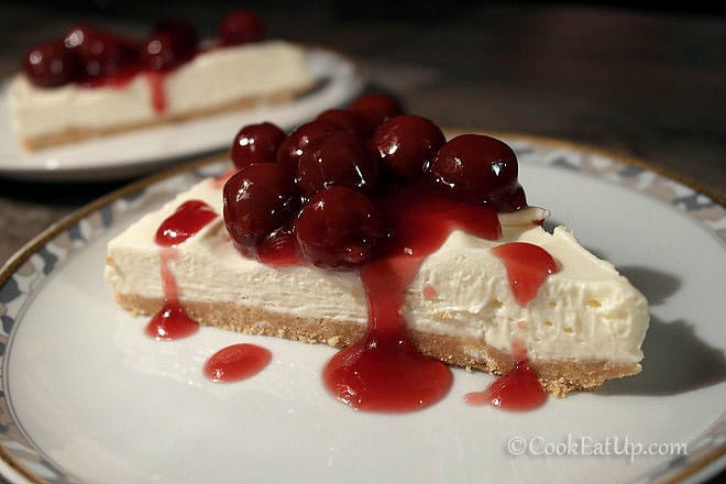 Cheesecake – Τσίζκεϊκ με βύσσινα
