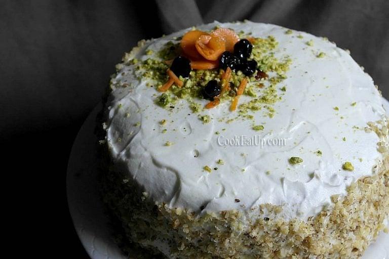 Κέικ καρότου, το αγαπημένο της Αριάδνης
