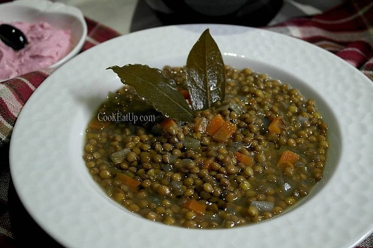 Φακές σούπα, για τα παλικάρια της και όχι μόνο