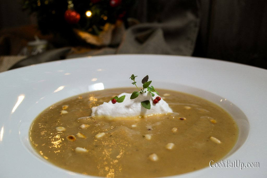 Καστανόσουπα βελουτέ, μια γκουρμέ μελωδία με ρουστίκ νότες