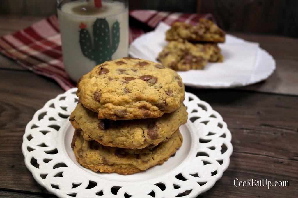 Απίθανα μπισκότα βρώμης με σοκολάτα, καρύδια και ινδοκάρυδο