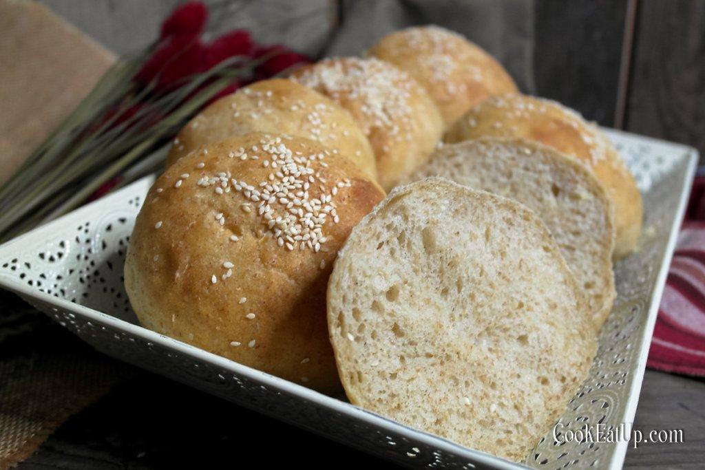 Νηστίσιμα ψωμάκια για μπέργκερ, σκέτος αφρός!