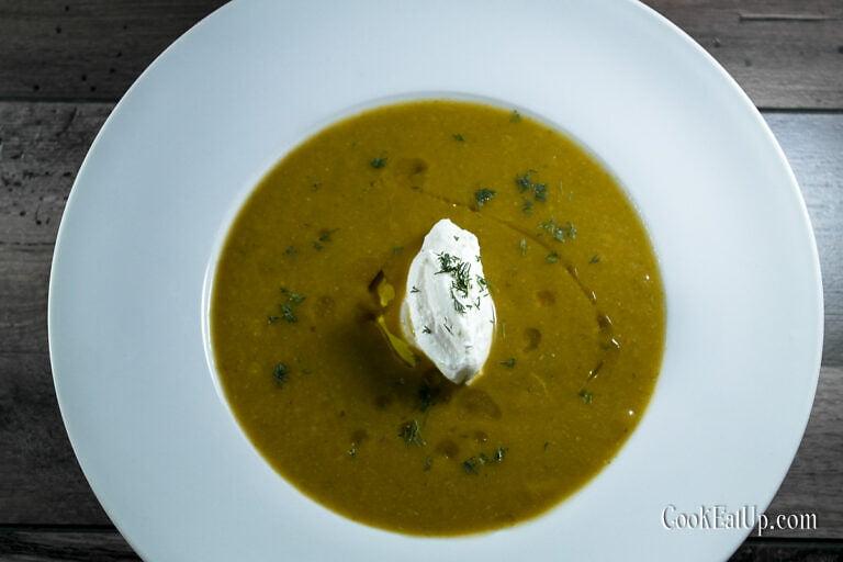 Βελουτέ σούπα, λαχανικών